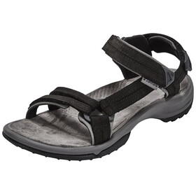 Teva Terra Fi Lite Leather Sandaler Damer sort